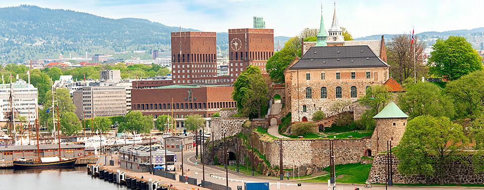 Promenade von Oslo