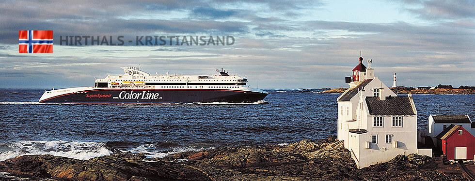 Hirtshals - Kristiansand Schiffe