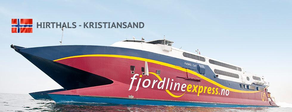 Hirthals - Kristiansand Fjordline Schiffe